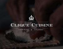 Clique Cuisine relaunch