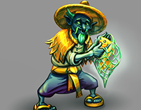 character test immortal fisherman