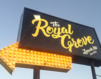 2018 - Branding - The Royal Grove