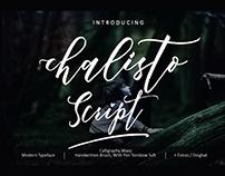 Chalisto Scipt Font