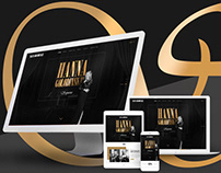 Ui Design Soprano Singer Website