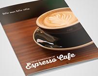 Freebie Coffee Shop BiFold Brochure Template