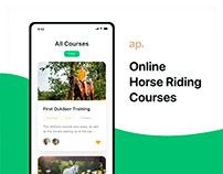 Horse Riding Courses App