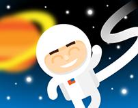 Astronaut Mascot