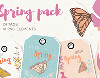 Spring collection - 24 tags