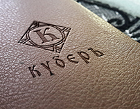 Kuber Leather shoes and bags  logo