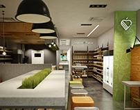 healthy food restaurant composition 3