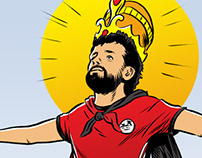 King Salah, BBC Sport: World Cup 2018