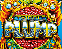 Twiddle Plump CD Packaging Design