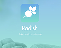 ProtoHack | Radish Time Management App (UX/UI)