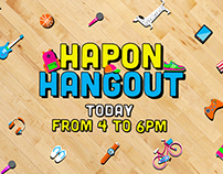 Nickelodeon Hapon Hangout Bumpers
