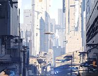 Area 09 - Sci fi City