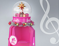 Barbie Christmas Display Stand