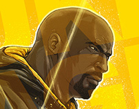 Luke Cage - Fan art