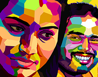 Vector + Colours + Portraits