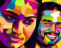 Vector + Colours + Portraits