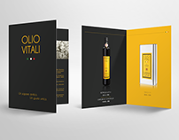 Olio Vitali - Brochure & Website Design