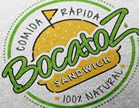 Identidad para Bocatoz Sandwich