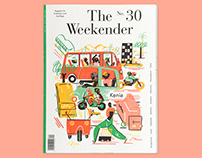 Cover & Textillustration for The Weekender Issue No. 30