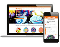 Uberpong website & Custom app
