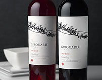 Girouard Wine Label & Packaging