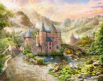 Old magic Castle