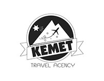 Kemet - Travel agency | Logo