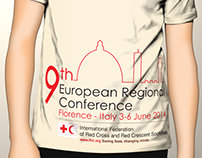 "Logo ""9th European Regional Conference"" IFRC"