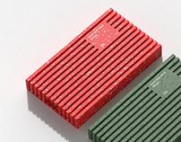 Hard disk drive stripe
