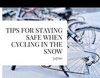 Tips For Staying Safe When Cycling in the Snow
