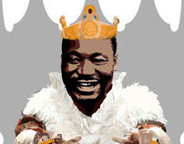Martin Luther King - Martin Burger King