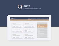 SUST CES Web Design