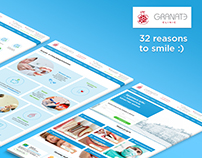 Website for dental clinic Granate