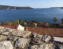 Bay of Kotor, view from Herceg Novi