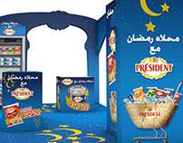 "Stand Ramadan ""Président"""