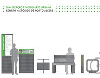 Sinalização e Mobiliário Urbano | Centro Histórico
