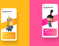 Illumination Entertainment - Despicable Me Interaction