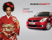 Suzuki Swift Commercial & Advertising