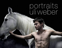 Uli Weber 'Portraits' Book published by Skira