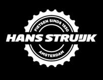 Visuele identiteit & logo ontwerp Hans Struijk