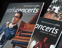 York Concerts Programmes