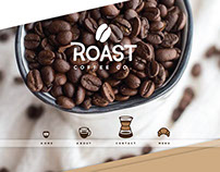 Website Design: Roast Coffee Co.