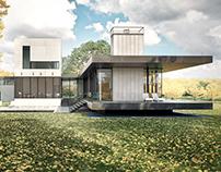 Tred Avon River House / Robert Gurney Architect