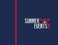 Redbull Summer Events 2016 magazine