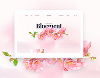 Bloement - Flowers Delivery E-commerce