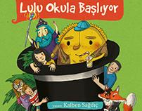 Lulu Okula Başlıyor - Kalben (Aylak Adam Yayınları)