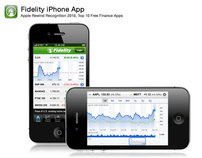Fidelity Investment's iPhone App