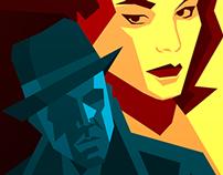 """""""Film Noir Festival"""" poster"""