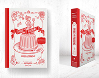 Pride and Pudding book design