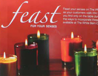 Feast Theme for White Barn Candle Company